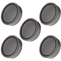 Cewaal Cuerpo 5pcs Lente posterior de la cámara Cap + cover set para Sony NEX-5N NEX-3 NEX-C5 Gris