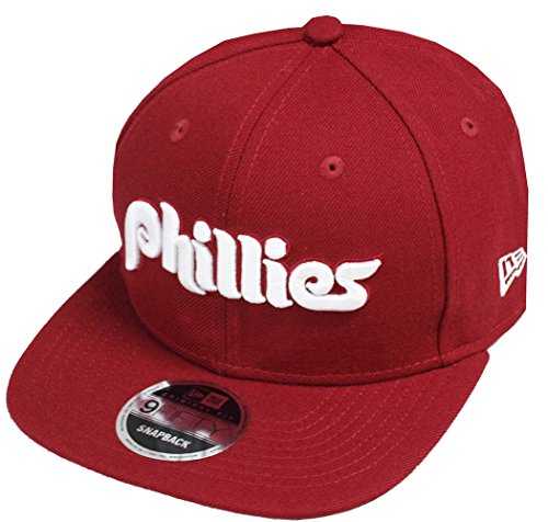 Preisvergleich Produktbild New Era Philadelphia Phillies Cooperstown Classics Snapback Cap Maroon 9fifty 950 Limited Special Edition
