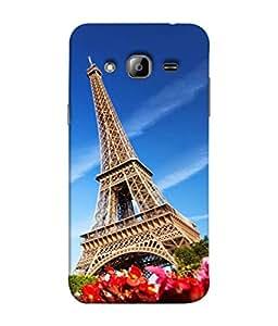 Fuson Designer Back Case Cover for Samsung Galaxy On7 G600Fy :: Samsung Galaxy Wide G600S :: Samsung Galaxy On 7 (2015) (designer wall paper frame photo curtains)