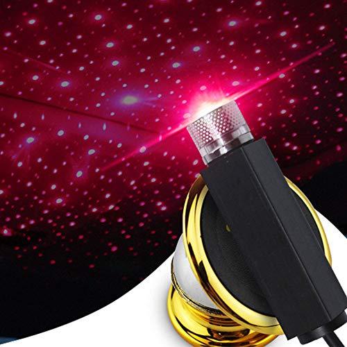 CJWCSUniversal Auto Dach Sterne Nachtlichter Projektor Licht Innenraum Ambiente Lampe Dekoration...