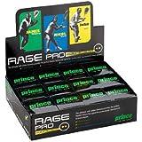 Prince Prince Rage Double Yellow Dot 12-Pack Squash Balls