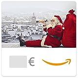Cheque Regalo de Amazon.es - E-Cheque Regalo - Papa Noel en lo Alto de un Edificio