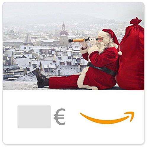 cheque-regalo-de-amazones-e-mail-papa-noel-en-lo-alto-de-un-edificio