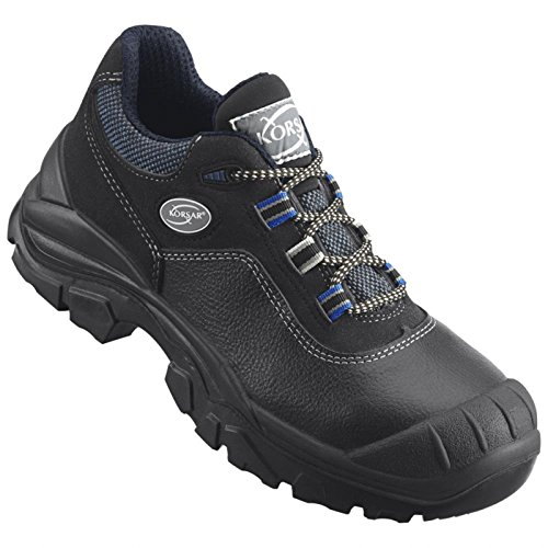 Arbeitsschuh Sicherheitsschuh Schuh Rapid Halbschuh S3 schwarz-blau - Größe 48