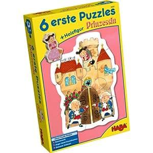 2434 - HABA - 6 Erste Puzzle - Prinzessin