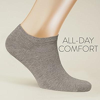 ALL ABOUT SOCKS 5er Pack Sneaker Socken Damen & Herren | kurze Socken schwarz, weiß, farbig | kurze Sneakersocken Baumwolle | 35-50