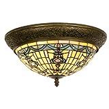 Lumilamp 5LL-5351 Deckenlampe Deckenleuchte im Tiffany-Stil