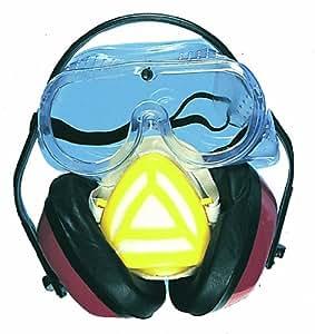 Kit de protection masque + casque + lunette