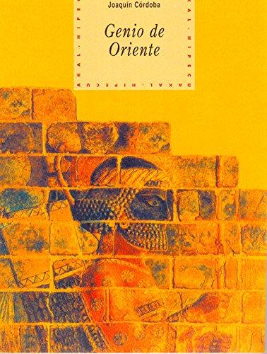 Genio de oriente (Historia del pensamiento y la cultura) por Joaquín Córdoba