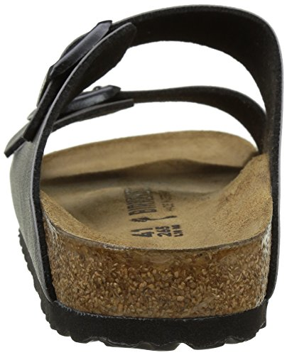 Birkenstock Unisex Erwachsene Arizona Sandalen Grey (Pull Up Anthracite)