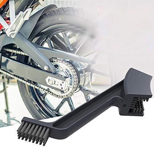 Cheerfulus Motorrad Kette Reinigungsbürste, Fahrrad Mountain Bike Motorrad Radfahren Kette Pinselreiniger Reinigung Wartung Werkzeug, Reinigungswerkzeug Bürste