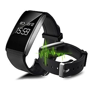 KPulsmesser Smart Sport Armband Schrittzähler Wasserdichte Uhr Herzfrequenz Blutdruckmessgerät Gesunde Schlaf Universal Männer Und Frauen ApplePulsmesser