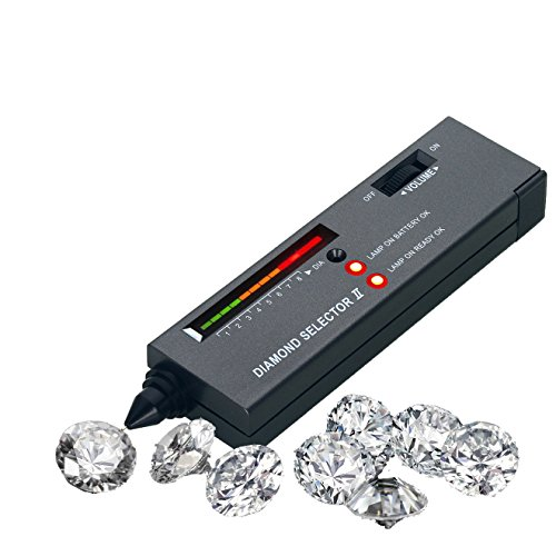 Tragbare Diamant Tester, og-evkin Hohe Genauigkeit Professionelle Juwelier Diamant Tester für Anfänger und Expert