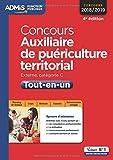 Concours Auxiliaire de puériculture territorial - Catégorie C - Tout-en-un - Concours 2018-2019
