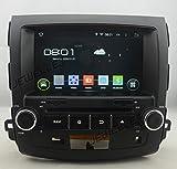 Huit Core 1024* 600écran HD Android 6.0Navigation GPS DVD de voiture pour Mitsubishi Outlander Citroën C-Crosser Peugeot 4007