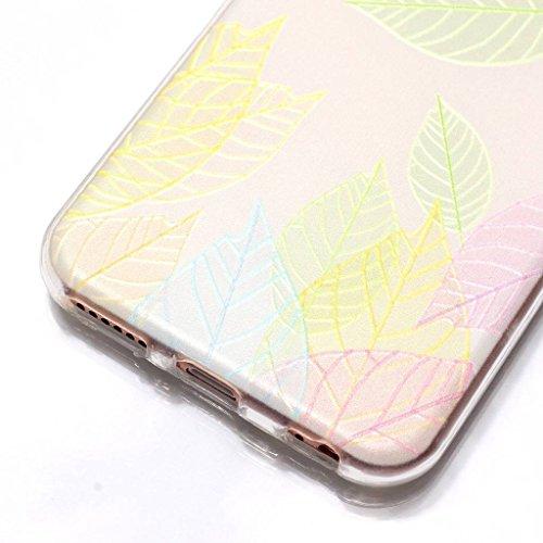 "Coque pour Apple iPhone 6S / 6 , IJIA Transparent Belles Roses TPU Doux Silicone Bumper Case Cover Shell Housse Etui pour Apple iPhone 6S / 6 (4.7"") HX49"