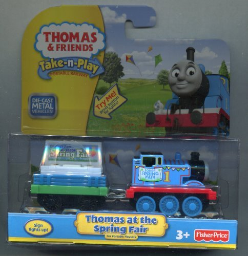 Thomas At the Spring Fair ** Light up Sign ** Take-n-play ** Die-cast ** Thomas the Train & Friends