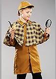Magic Box Disfraz de Sherlock Holmes para niño Talla Grande Small (4-6 Years)