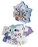 Kit De Loisirs Créatifs Enfants La Reine des Neiges -  Coffret Flocon 75 Pièces - Dès 3 ans - D'arpèje - CFRO002