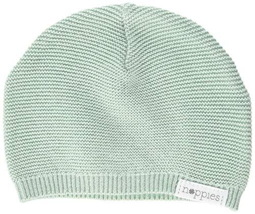 Noppies Unisex Baby Mütze U Hat Knit Rosita, Grün (Grey Mint C175), One Size...