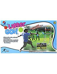 Fusine™ Ladder Ball Golf Set ( Throw a Golf and Hang up The Ladder) - A Family & Friends Game- for Kids and Adults (Ladder Golf)