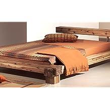 Holzbett massiv 140x200  Suchergebnis auf Amazon.de für: bett vintage 140 x 200 cm