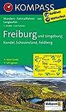 Freiburg und Umgebung - Kandel - Schauinsland - Feldberg: Wanderkarte mit Aktiv Guide, Radwegen und Loipen. GPS-genau. 1:25000: Wandelkaart 1:25 000 (KOMPASS-Wanderkarten, Band 889)