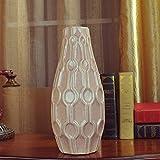 SHIYZII Shiyzi Keramikvase, im chinesischen Stil, glasiert, für den Garten, für Heimwerker,...