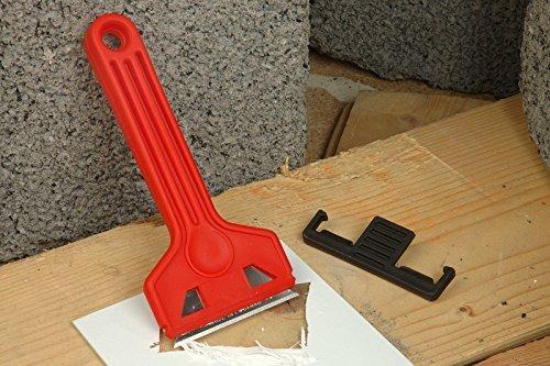 Linic UK Made Britische Rote Fenster Schaber Box 10Stück. Entfernt Farbe von Fensterrahmen. (S7372) versandkostenfrei innerhalb UK