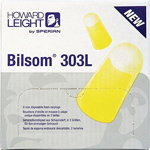 Gehörschutzstöpsel Bilsom 303L paarweise SNR33dB EN352-2, 200 Stück