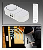 Electomania™ Wireless Door Window Safety Contact Magnetic Security Alarm Burglar Alarm Bell