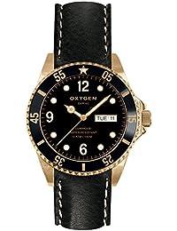 University Sports Press EX-D-MIN-40-CL-BL - Reloj de cuarzo unisex, correa de cuero color negro