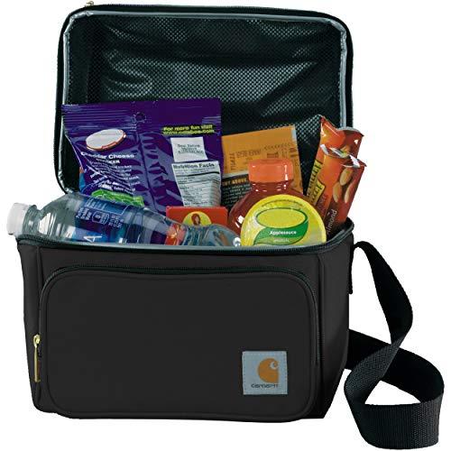 Carhartt 8935810001 Deluxe Kühltasche mit zwei Fächern, isoliert Carhartt Logo-patch