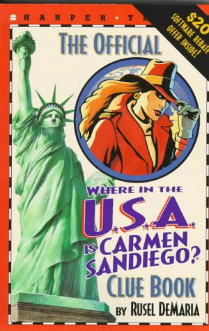 The Official Where in the U.S.A. Is Carmen Sandiego?
