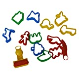 Emporte-pièces Moules Kit pour Argile Pâte à Modeler