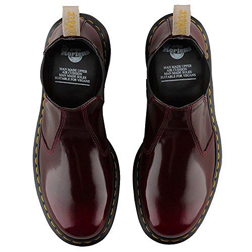Dr. Martens 2976 Vegan, Chelsea Boots Mixte Adulte Cerise