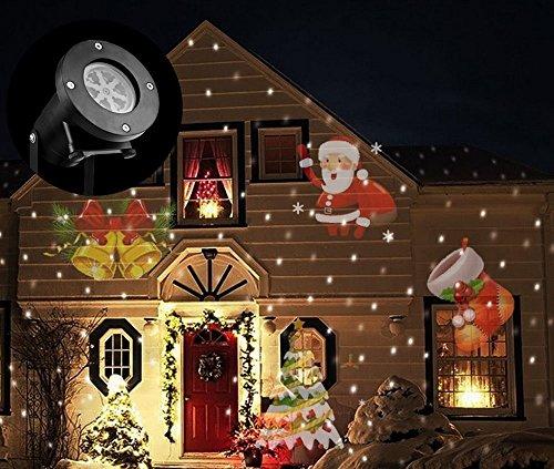 Proiettore Luci Natalizie Opinioni.Luci Del Proiettore Di Natale Luci Esterne Del Proiettore Di Natale