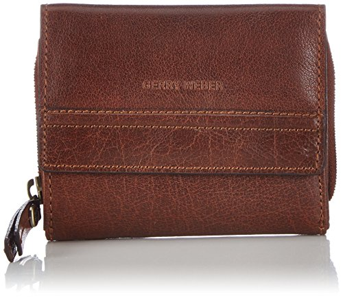 Zip-around Laptop-tasche (Gerry Weber Damen Lugano Purse H13FZ Geldbörsen, Braun (cognac 703), 10x13x2 cm)