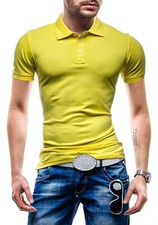 BOLF - T-shirt et Polo - GLO STORY 5408 - Homme - XL Jaune [3C3]