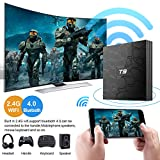Android 8.1 TV Box Superpow T9 4GB RAM 64GB ROM RK3328 Quad-core Support 4K Full HD 2.4Ghz Wi-Fi BT 4.1 USB 3.0 H.265 Smart TV Box