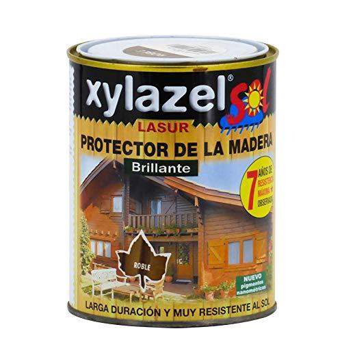 Xylazel - Protector lasur brillante 750ml caoba