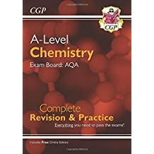New A-Level Chemistry for 2018: AQA Year 1 & 2 Complete Revision & Practice with Online Edition (CGP A-Level Chemistry)