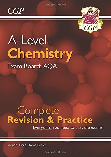New A-Level Chemistry for 2018: AQA Year 1 & 2 Complete Revision & Practice with Online Edition por CGP Books