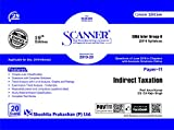 Scanner CMA Inter Group -II (2016 Syllabus) Paper -11 Indirect Taxation