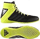 adidas Speedex 16.1, Scarpe da Boxe Uomo, Nero (Schwarz Cblack/Ngtmet/Silvmt), 45 1/3 EU
