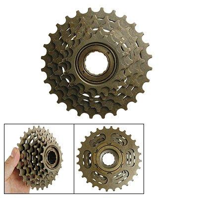 Kassette Geschwindigkeit 6 Fahrrad (sourcingmap® Fahrrad Rad Teil 6-Geschwindigkeit Typ Metall Kettenrad Rad Freilauf Reifen)