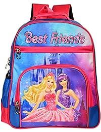 Trendy Cool 15 Inch School Bag For Kids With Waterproof Cartoon Print (4-8 Years)