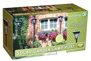 Proteam Sl1105 - Solar Garden Post Lamp - Lamp Post