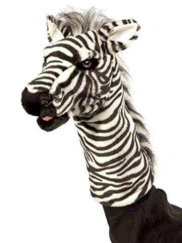 Folkmanis Puppets - 2565 - Marionnette et Théâtre - Zebra Stage Puppet