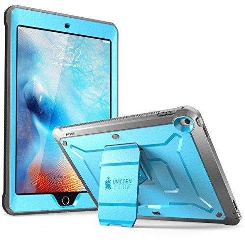 Supcase iPad 9,7 Hülle 2018/2017 [Unicorn Beetle PRO] Fullbody Case Rugged Schutzhülle Cover mit integriertem Displayschutz für iPad 9.7 2017/2018 (Blau)
